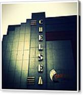Chelsea Art Deco Blue Canvas Print