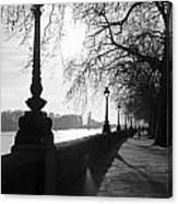 Chelsea Embankment London Uk 5 Canvas Print
