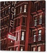 Chelsea Hotel Canvas Print