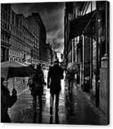 Chelsea Rain Canvas Print