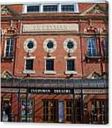 Cheltenham Theatre Canvas Print