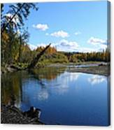 Chena River Canvas Print