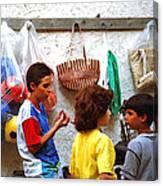 Cherda Children Canvas Print