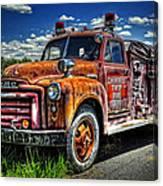 Cherokee Fire Truck Canvas Print