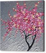Cherry Blossom In Pink Canvas Print