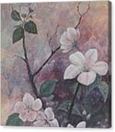 Cherry Blossoms In The Cosmos Canvas Print