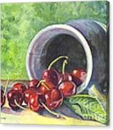 Cherry Pickins Canvas Print