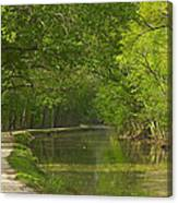 Chesapeake And Ohio Canal Towpath Canvas Print