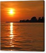 Chesapeake Sun Canvas Print