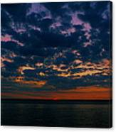 Chesapeake Sunset Clouds Canvas Print