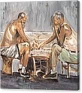 Chess Mates Canvas Print