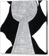 Chess Pawn Canvas Print