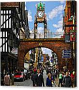 Chester Eastgate Clock Canvas Print