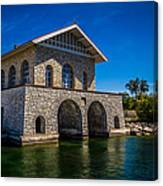 Chester Thordarson Boathouse  Canvas Print