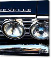 Chevelle Headlight Canvas Print