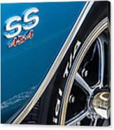 Chevelle Ss 454 Badge Canvas Print