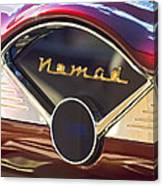 Chevrolet Belair Nomad Dashboard Canvas Print