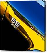 Chevrolet Chevelle Ss 396 Side Emblem Canvas Print