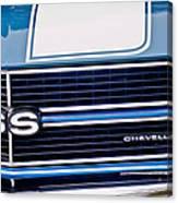 Chevrolet Chevelle Ss Grille Emblem 2 Canvas Print