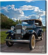 Chevrolet Confederate Ba Phaeton 1932 Canvas Print