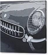 Chevrolet Corvette 1954 Canvas Print