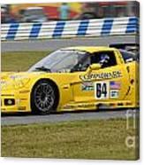 Chevrolet Corvette C6 Race Car Canvas Print