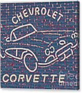 Chevrolet Corvette Canvas Print
