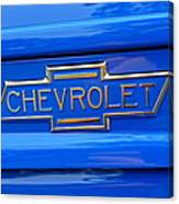 Chevrolet Emblem Canvas Print