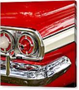 Chevrolet Impala Classic Rear View Canvas Print