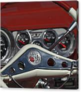 Chevrolet Impala Steering Wheel Canvas Print