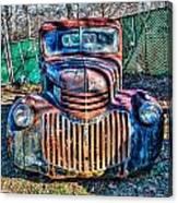 Chevrolet Smile Canvas Print
