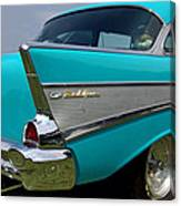 Chevy 1957 Bel Air Canvas Print