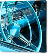Chevy Bel Air Interior  Canvas Print