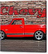Chevy C10 Pickup Canvas Print