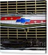 Chevy Emblem Canvas Print
