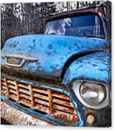 Chevy In The Woods Canvas Print