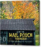 Chew Mail Pouch 2 Canvas Print