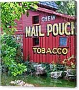 Chew Mail Pouch Tobacco  Canvas Print