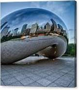 Chicago - Cloudgate Reflections Canvas Print
