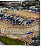 Chicago Airplanes 03 Canvas Print