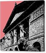 Chicago Art Institute Of Chicago - Light Red Canvas Print
