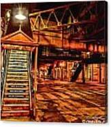 Chicago At Night I Canvas Print