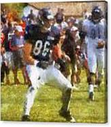 Chicago Bears Te Zach Miller Training Camp 2014 Pa 02 Canvas Print