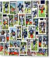 Chicago Bears Training Camp 2014 Collage Pa 01 Canvas Print