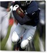 Chicago Bears Training Camp 2014 Moving The Ball 07 Canvas Print