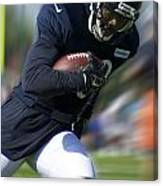Chicago Bears Training Camp 2014 Moving The Ball 09 Canvas Print