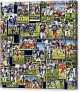 Chicago Bears Training Camp 2014 Pa 02 Canvas Print