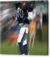 Chicago Bears Wr Armanti Edwards Moving The Ball Training Camp 2014 Canvas Print