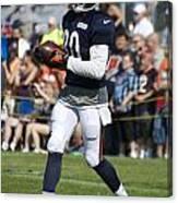 Chicago Bears Wr Armanti Edwards Training Camp 2014 07 Canvas Print