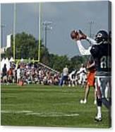 Chicago Bears Wr Armanti Edwards Training Camp 2014 08 Canvas Print